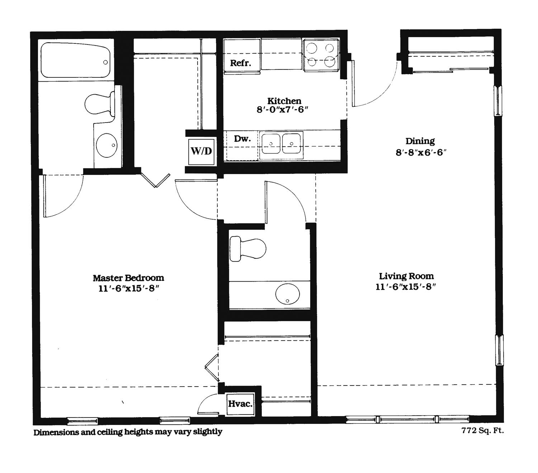 Independent Living Pomperaug Woods – Senior Independent Living Floor Plans