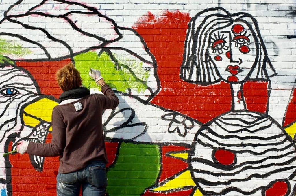artist mural