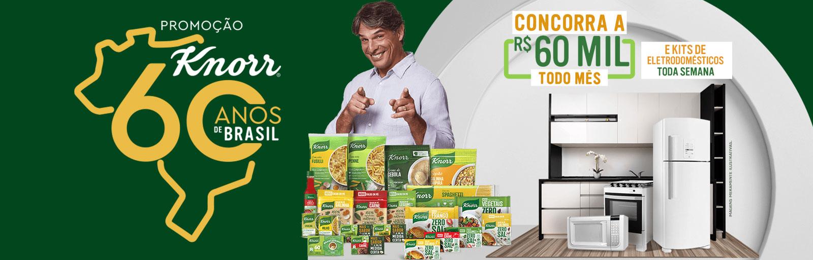Promoção Knorr 60 Anos de Brasil