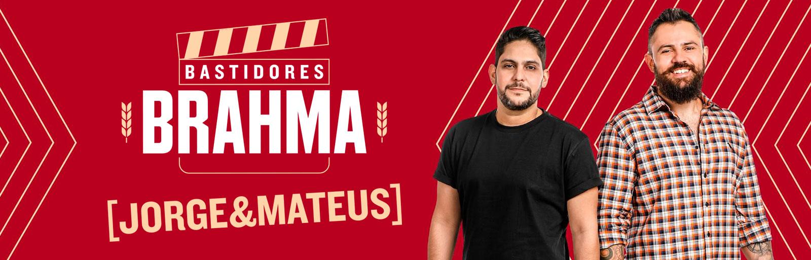 Promoção Bastidores Brahma Jorge e Mateus