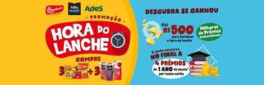Promoção Hora do Lanche
