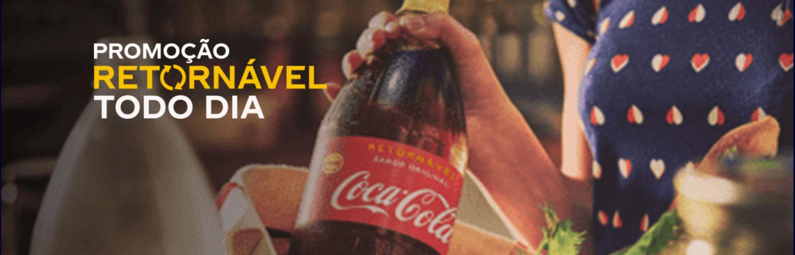 Promoção Coca-Cola Retornável Todo Dia