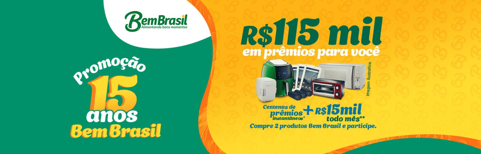 Promoção 15 Anos Bem Brasil