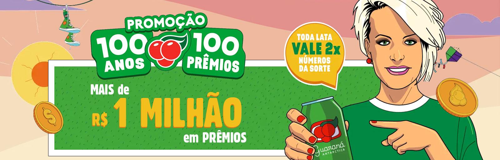 Promoção Guaraná 100 Anos, 100 Prêmios