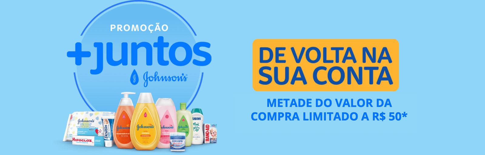 Promoção + Juntos Johnson´s