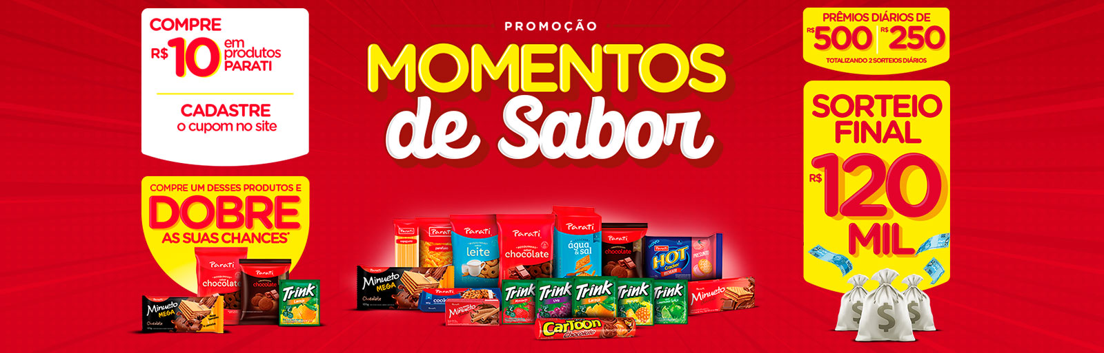 Promoção Momentos de Sabor Parati