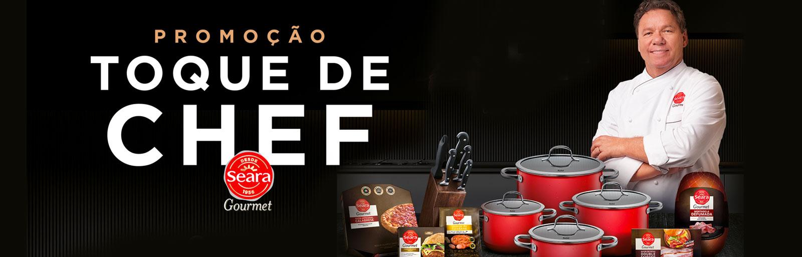 Promoção Toque de Chef Seara Gourmet