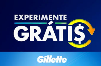Promoção Experimente Gillette Grátis