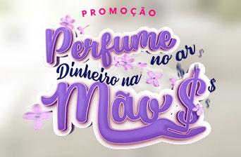 Promoção Perfume no Ar, Dinheiro na Mão - Omo, Comfort e Cif