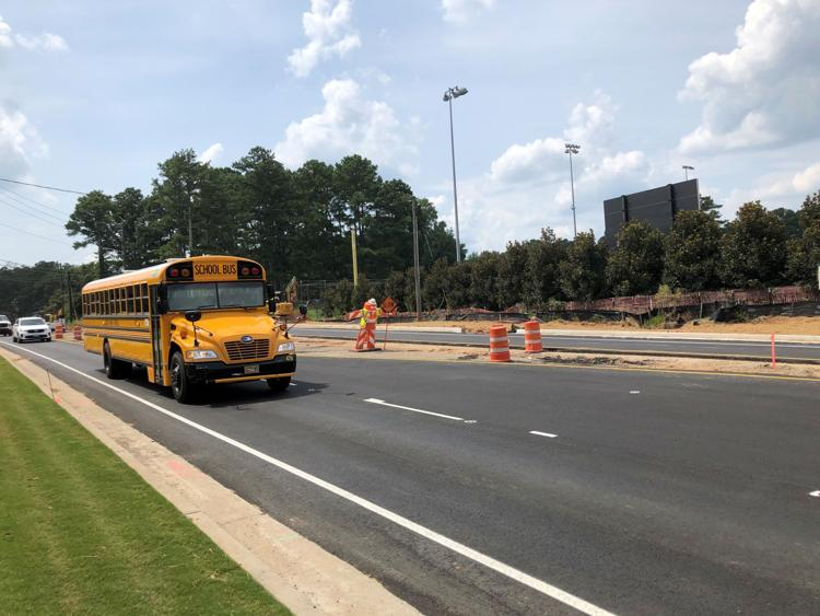 After two summers of shutdowns, Rucker Road opens to traffic