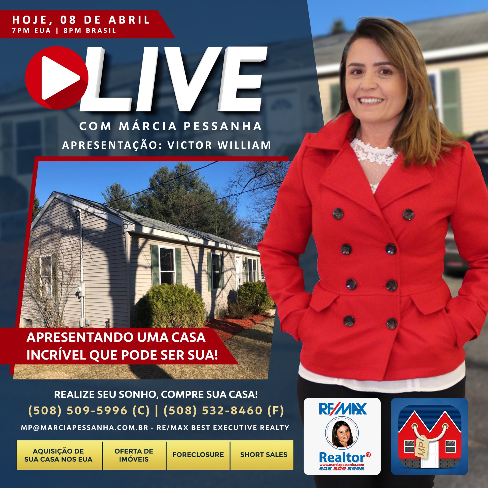 #Live Virtual Open House! Home 4 Sale in Leominster, MA