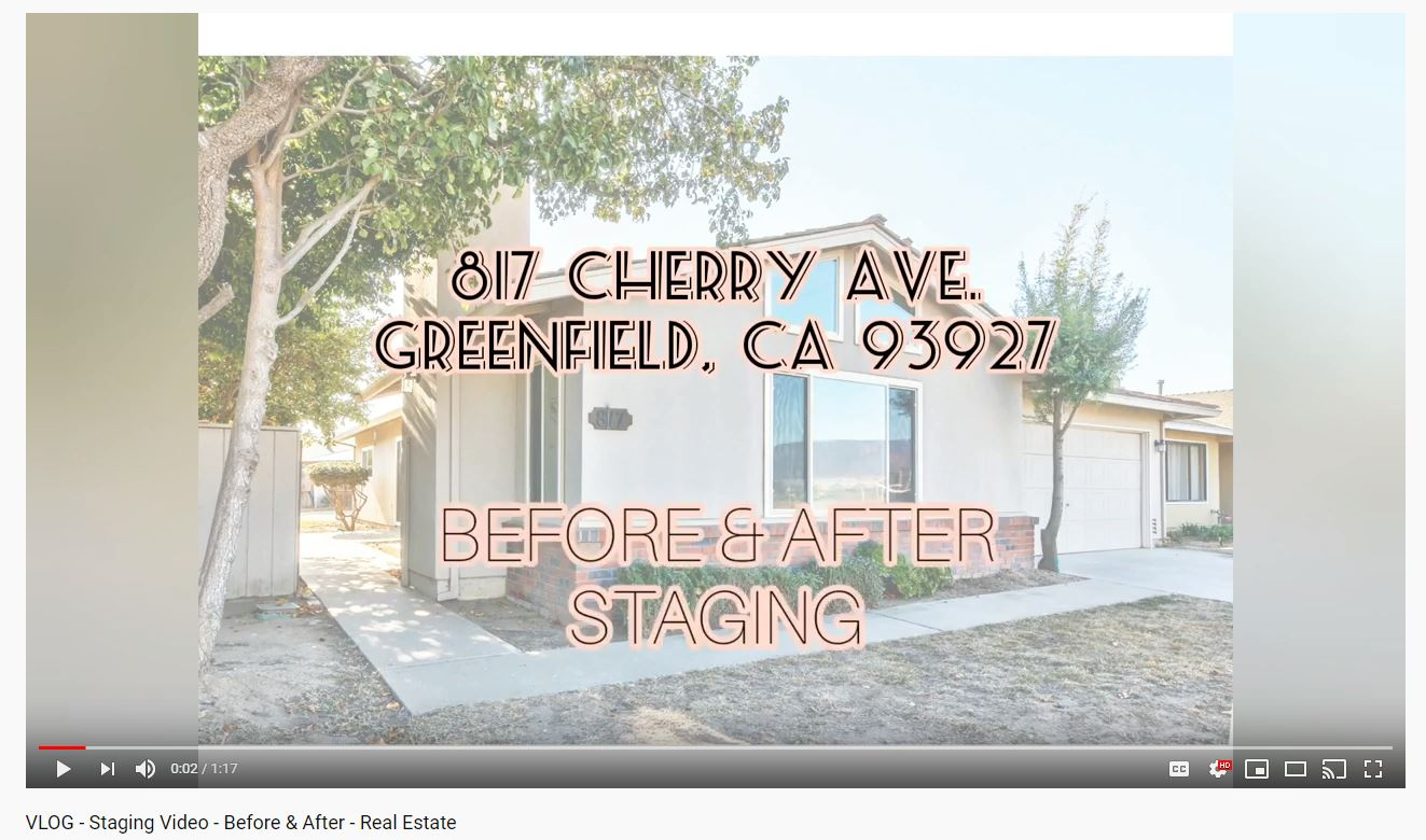 VLOG | Staging Video | Before & After
