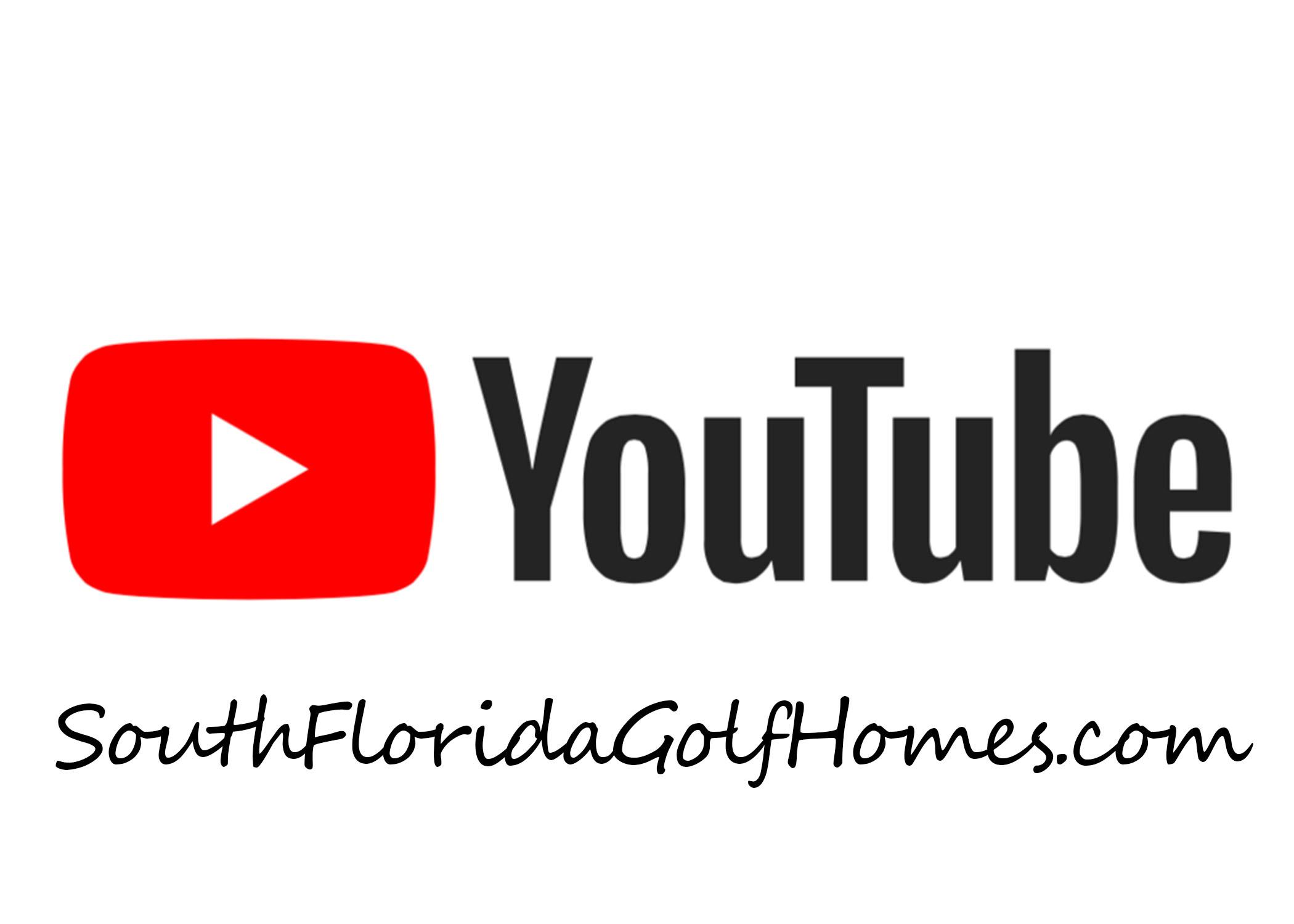 South Florida Golf Homes Video