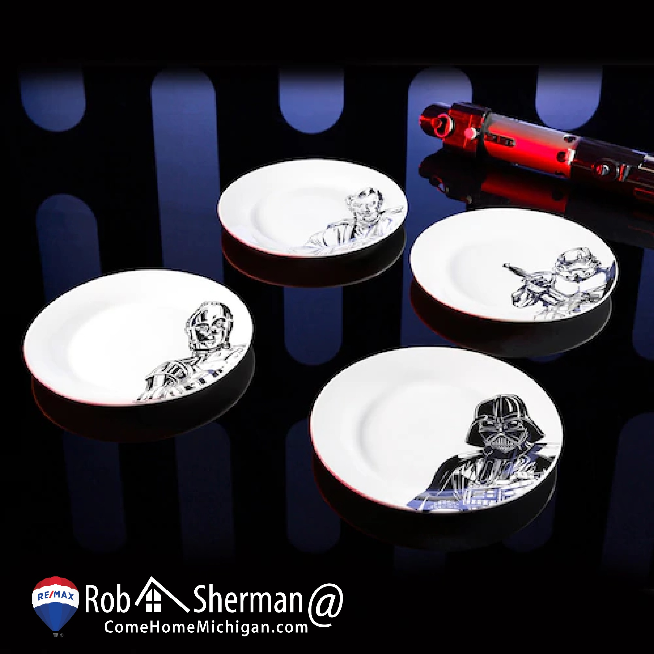 Kohl's Sells Sweet Star Wars plates and they Rock!