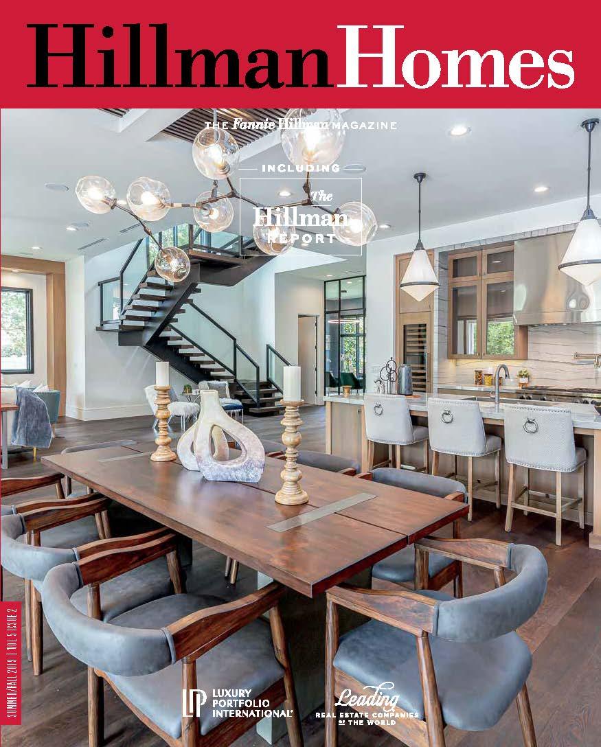 Hillman Homes Summer/Fall 2019 Edition