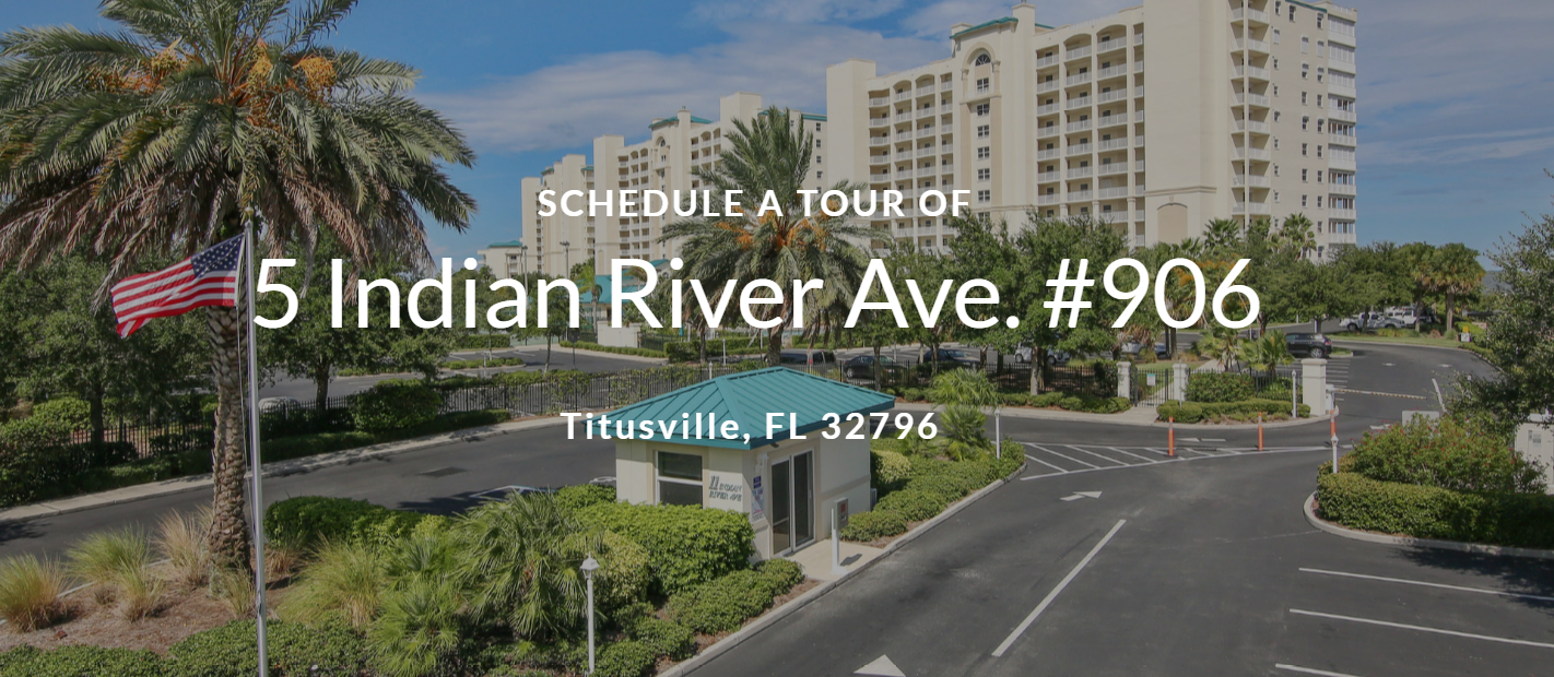 Schedule a Tour - 5 Indian River Ave. #906