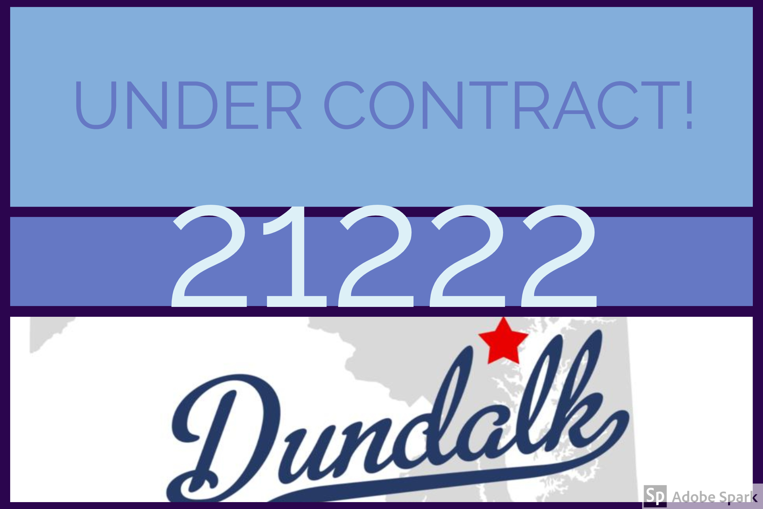Under Contract in Dundalk!
