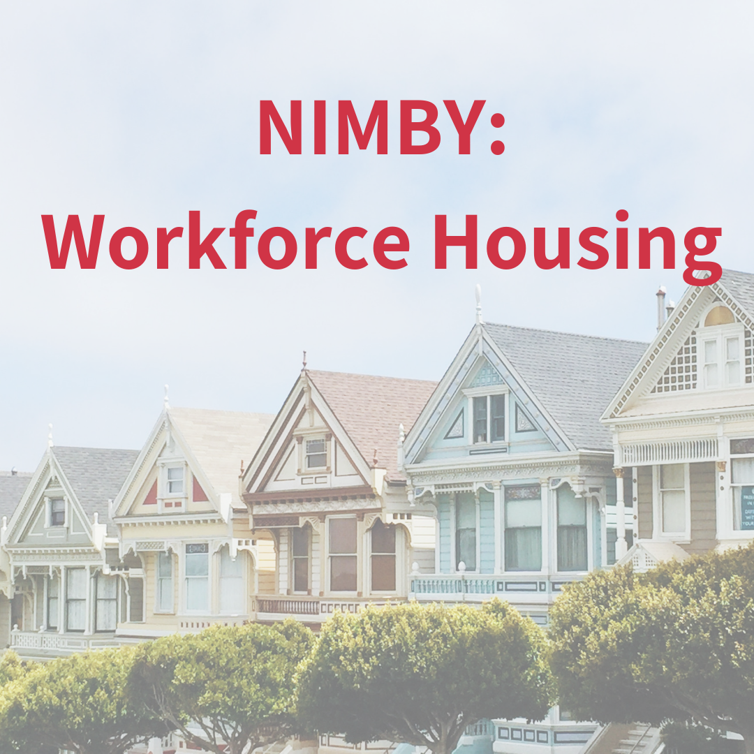 NIMBY - Affordable Housing Woes