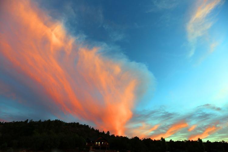 Crazy Arizona Weather? Beautiful sunsets