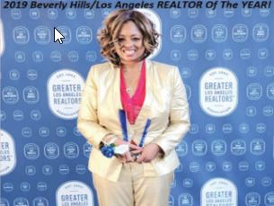 Taunee English, Broker Owner of Beverly Hills Brokerage Lions Realty Group, Named 2019 Realtor of the Year!