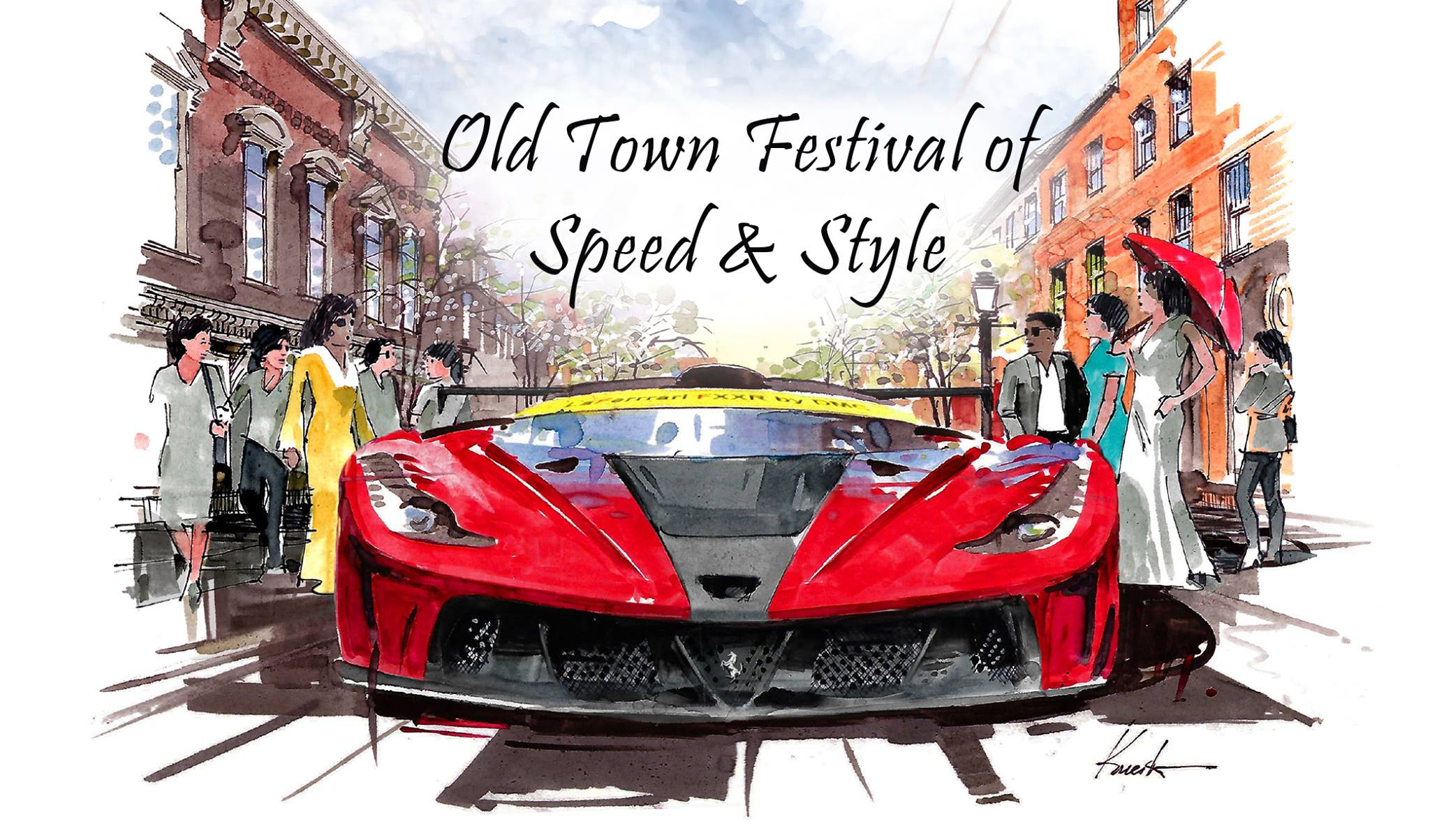 First Annual Old Town Festival of Speed & Style