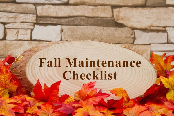 Homeowners Fall Maintenance Tips 2019