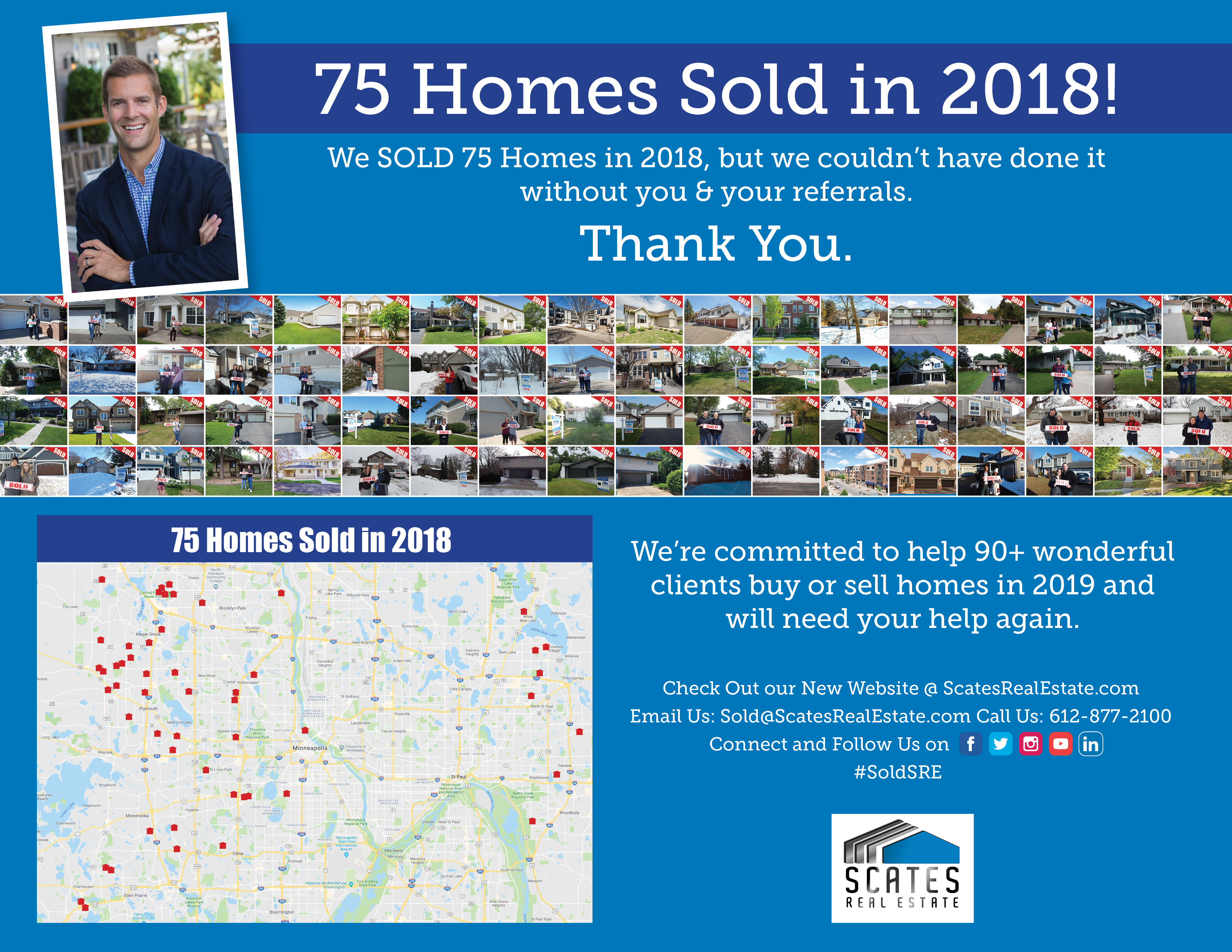 75 Homes Sold in 2018! Are you buying or selling a home in 2019?