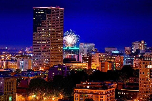 Portland, OR Fireworks