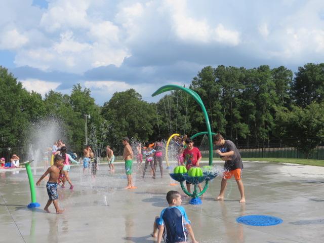 Lake Park Splash Pad
