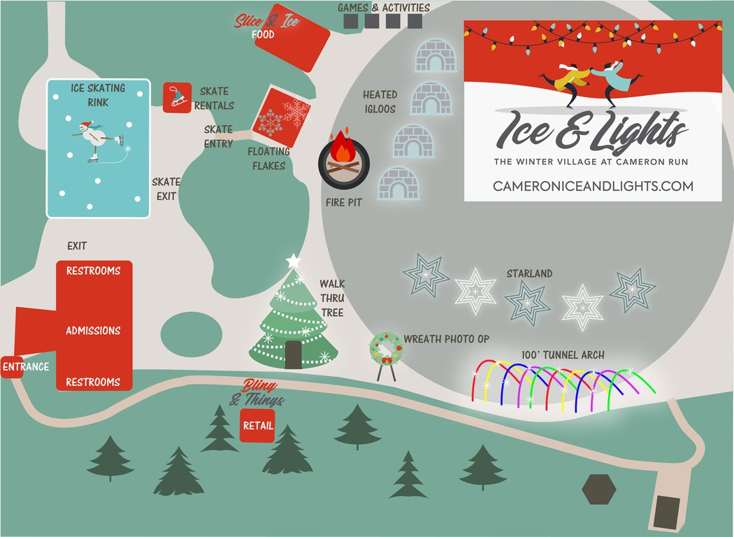 Ice & Lights: The Winter Village - Tickets on Sale Now