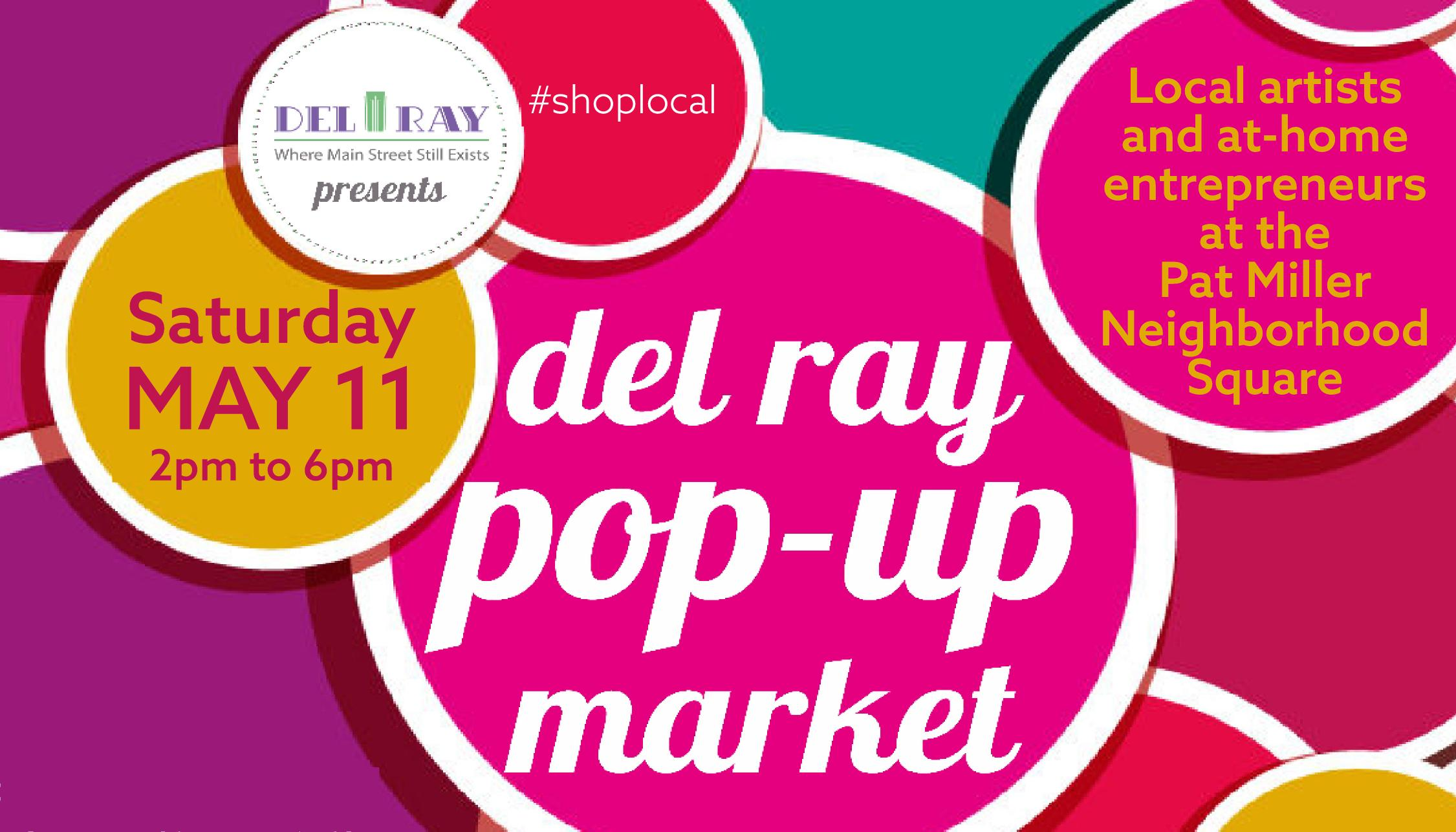 The Del Ray Pop-Up Market is Here
