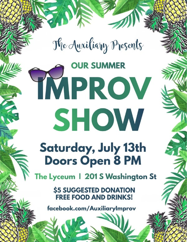 Improv Comedy Show - The Auxiliary