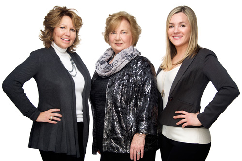 The De Cerbo Team - Gina De Cerbo, Lauren Racanelli, and Patti Bramall