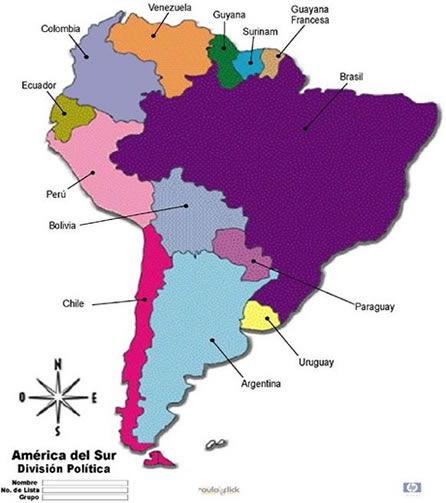 America_del_sur_paises