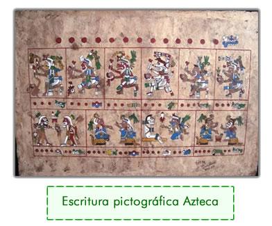 escritura azteca