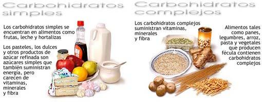 Los carbohidratos de tipo complejo