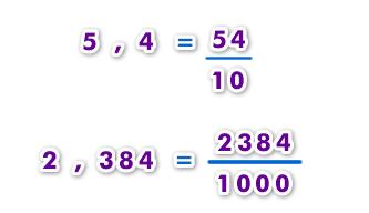 decimal a fracción