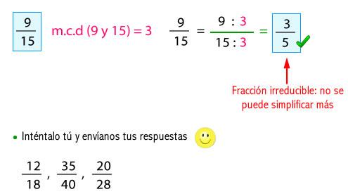 fracciones_irreducibles