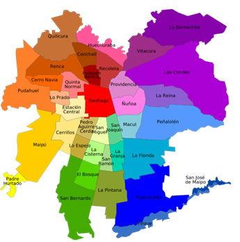 Unidades político – administrativas de Chile