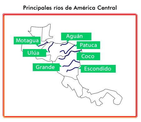 Ríos américa central