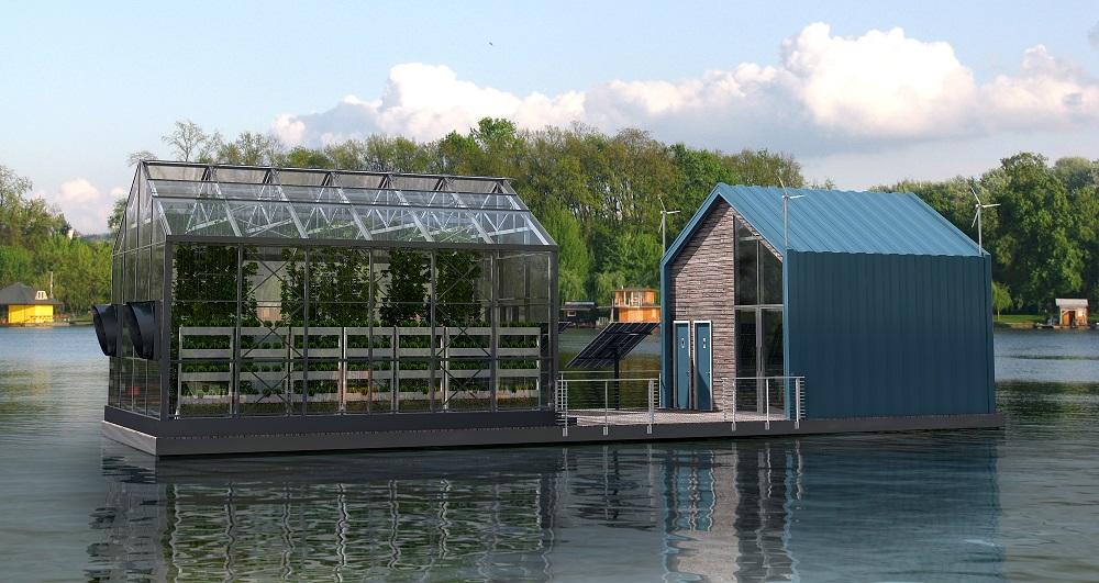 Un invernadero flotante, es posible y ya existe