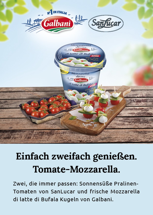 El tomate y la mozzarella se unen para incrementar las ventas en Alemania
