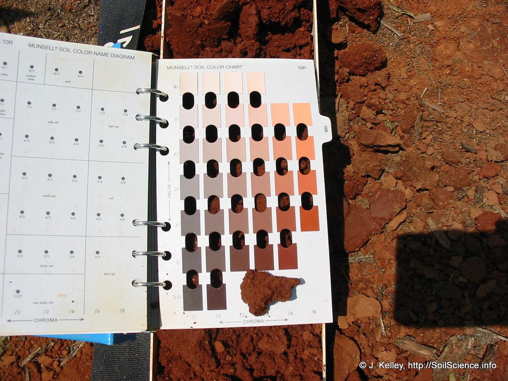 El correcto uso de tabla Munsell en la descripción de los suelos ...