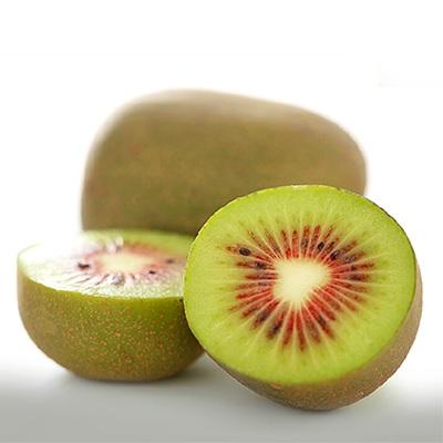 Kiwis rojos de China captan la atención en el Asia Fruit Logistica por su intenso color y sabor