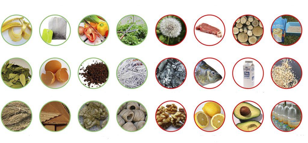 Residuos que podemos utilizar para hacer un compost de calidad