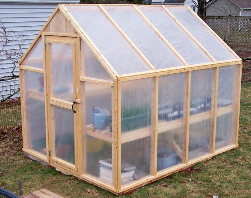 Paso a paso para hacer un invernadero de madera s lido y duradero - Fabricar un invernadero ...