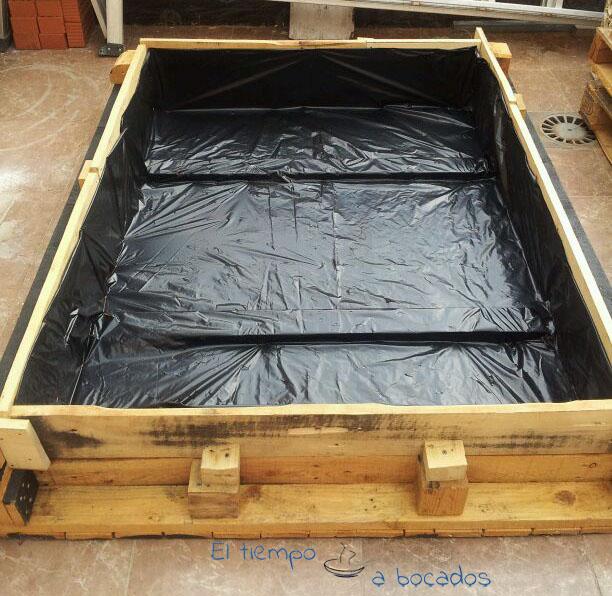 C mo construir un huerto con palets reciclados - Huerto con palets ...