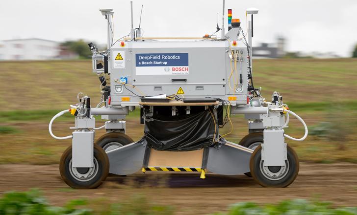 BoniRob, el robot que quita malezas sin usar herbicidas