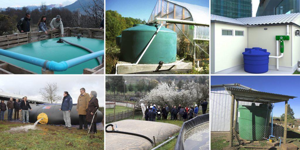Cómo construir un sistema de captación y acumulación de aguas lluvias para riego
