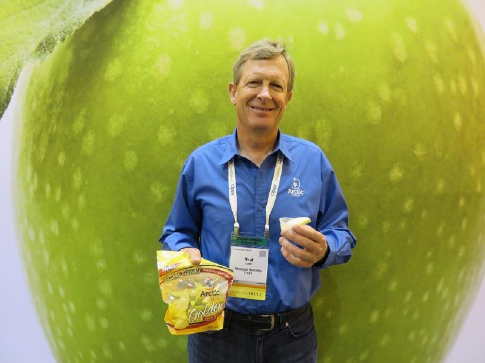 OSF comienza a comercializar variedad de manzana en rodajas que no se oxida